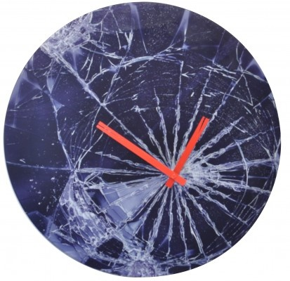 CRASH, wall clock by NEXTIME