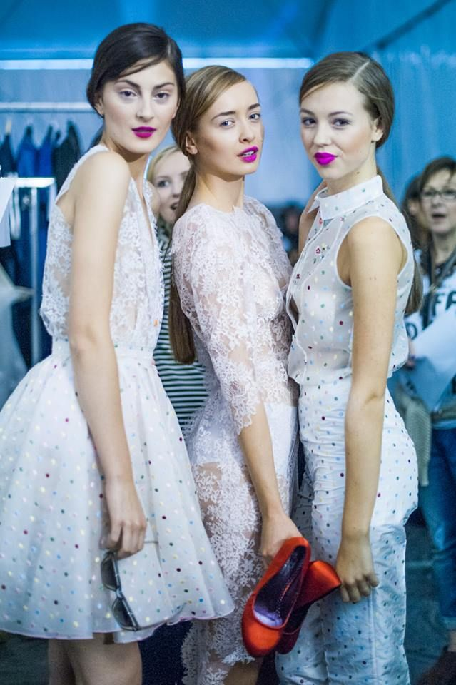 Zuzana Kubíčková <3 we are dreaming about to have them-dresses at home ( or at least to look like that models :D )
