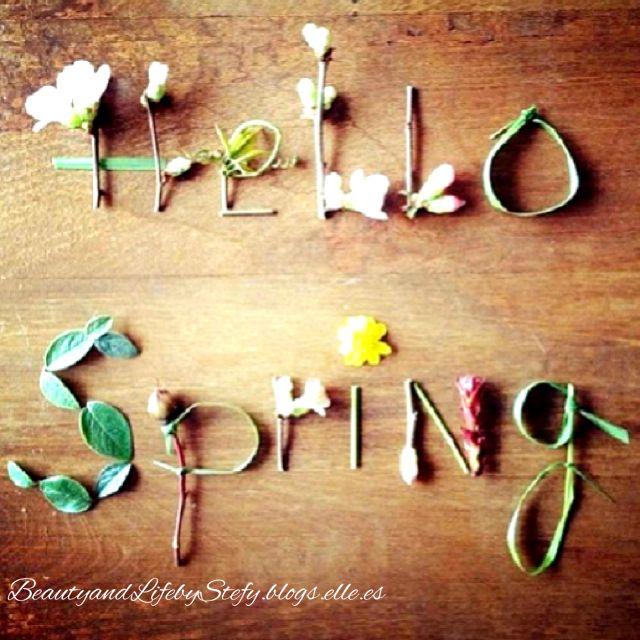 Bienvenida Primavera #WillkommenFrühling #WelcomeSpring #BienvenuePrintemps #ようこそ春#Добродошлипролеће #blogselle #spanishblogger #beautyandlifebystefy