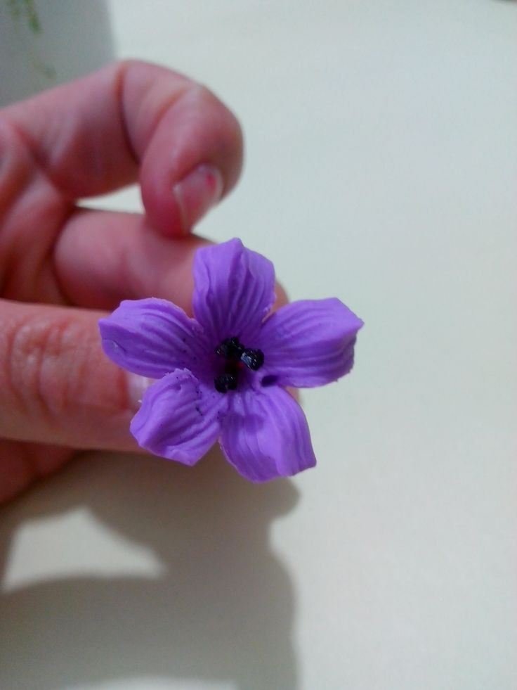 Como Hacer Flores Pequeñas en Porcelana Fria