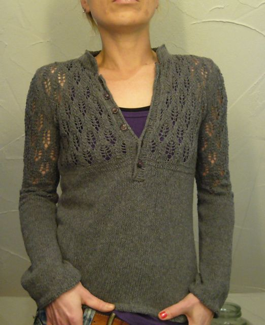 Ravelry: lilalu's henley perfected