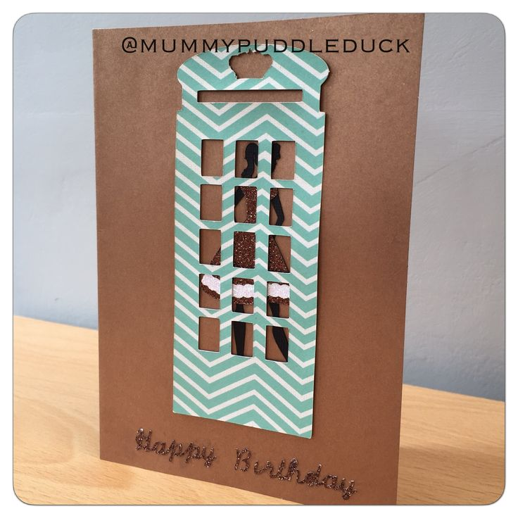 #Handmade #London #telephonebox card for Mummypuddleduck #MakeitMay project which brings a new card design every day and where 10% of all sales throughout may are #donated to #ParkinsonsUK #Cricut