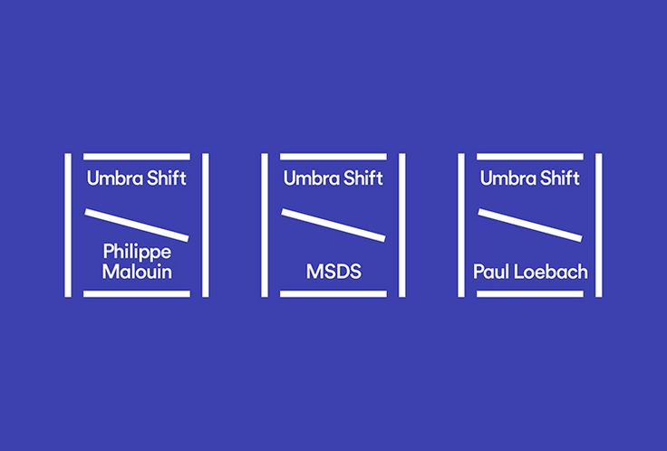 Picture of 4 designed by Post Projects for the project Umbra Shift. Published on the Visual Journal in date 19 October 2015