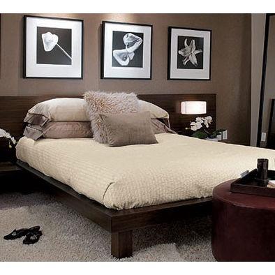 Mediterranean Bedroom Platform Beds Design, Pictures, Remodel, Decor and Ideas