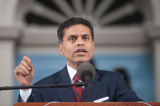 Delivering Harvard's Commencement address, journalist Fareed Zakaria told members of the Class of 2012 to trust themselves as they journey into a world that is more peaceful and contains more opportunities than ever before.