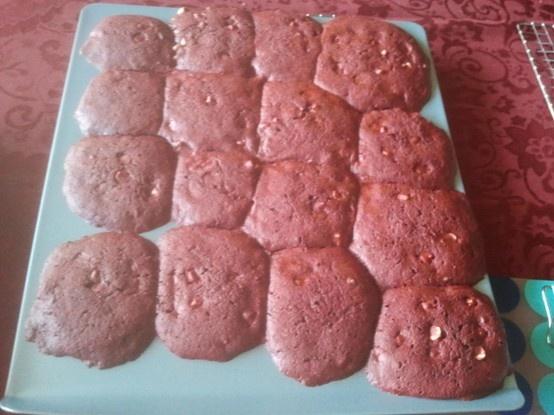 Chocolate Cake Mix Cookies With Butterscotch Chips