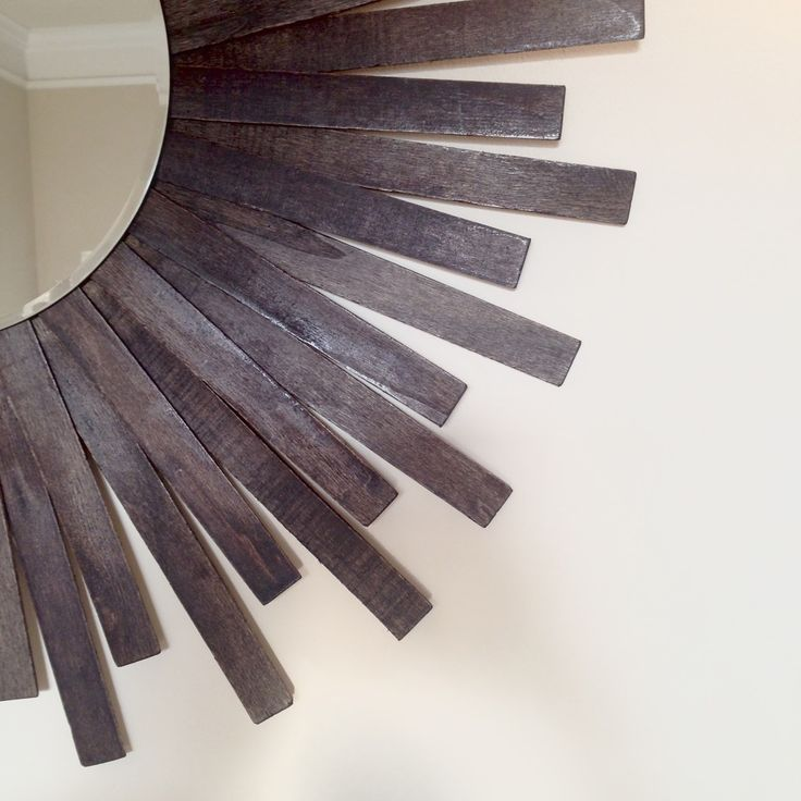 An easy and affordable DIY sunburst mirror project.