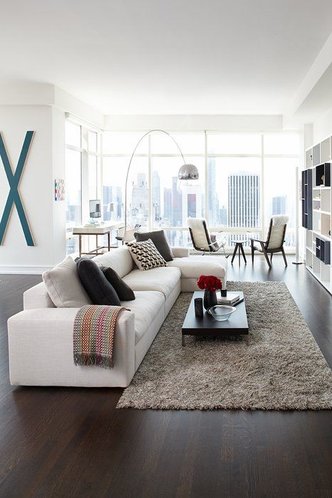 marili forastieri Modern & Contemporary Living Room Design