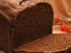 Pumpernickel bread for the bread machine.  This would make an unbelievable sandwich!  Also a great healthy bread to dip in soup.