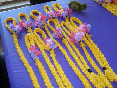 Counting Our Blessings: Brenna's Rapunzel Party