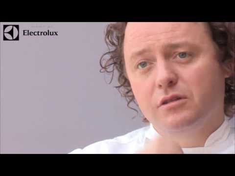 Michelin star chef Tom Kitchin prepares and cooks a Grouse recipe