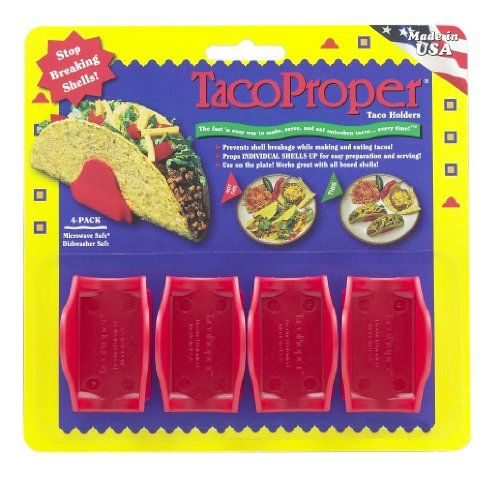 Taco Proper Taco Holders - 4 Pack, 2015 Amazon Top Rated Serveware Accessories #Kitchen