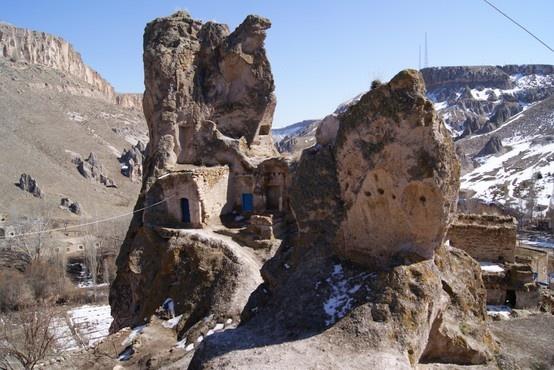 Ancient dwellings - Cappadocia