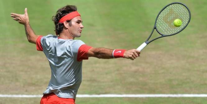 Roger Federer décroche son 7e titre à Halle. (AFP)