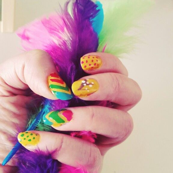 Easter mani.