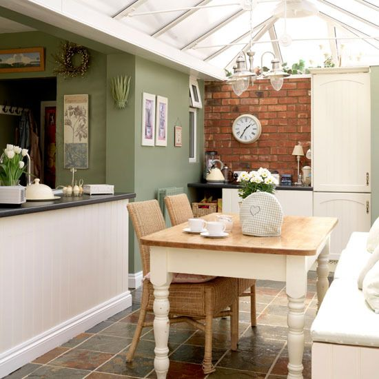 Country Conservatory Dining