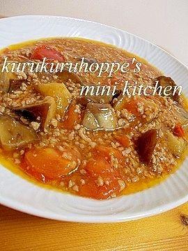 「なすとトマトのさっぱりマーボー☆」トマトが入った夏においしいマーボーですε(*╹◡╹*)з【楽天レシピ】