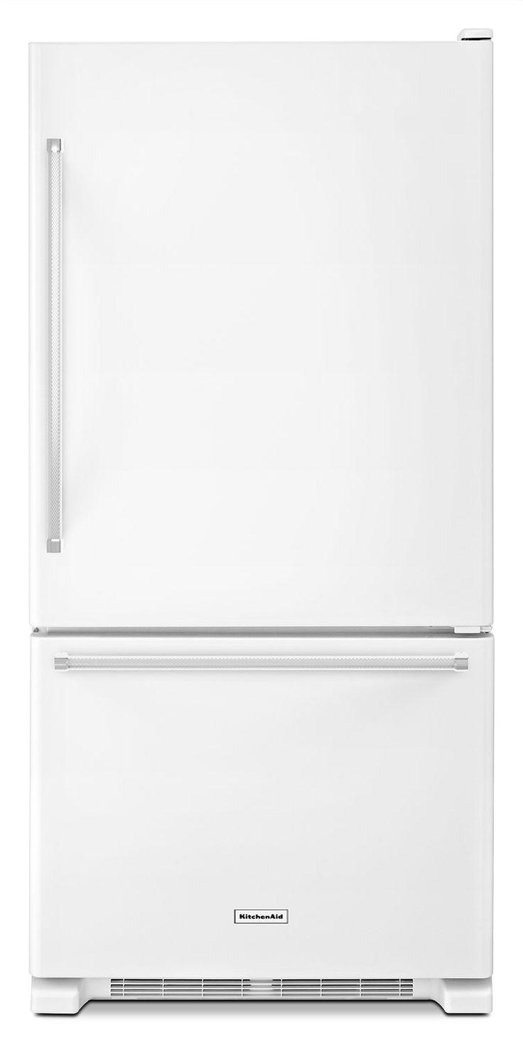 Kitchenaid Kbfc42fts 25+ best bottom freezer refrigerator ideas on pinterest