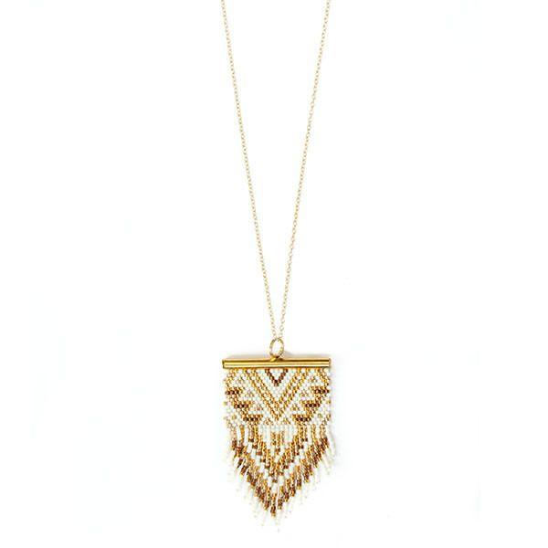 """Sautoir ethnique chic """"Birdy Gold"""" : Collier par amy-jewels"""