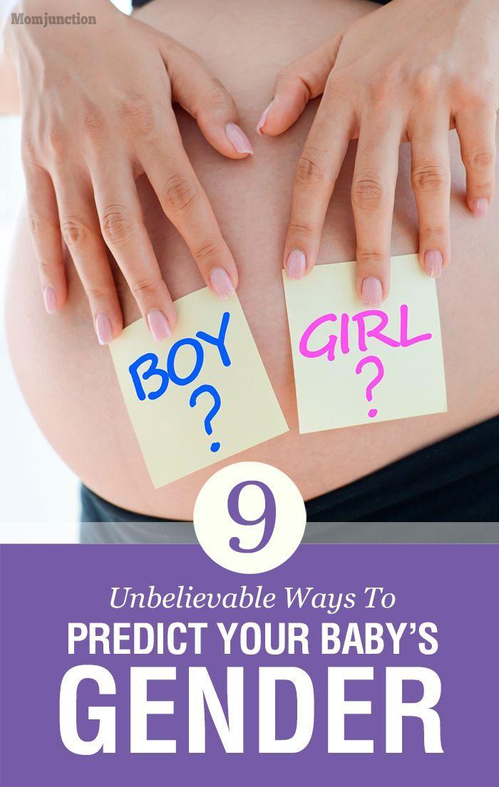 9 Unbelievable Ways To Predict Your Baby's Gender