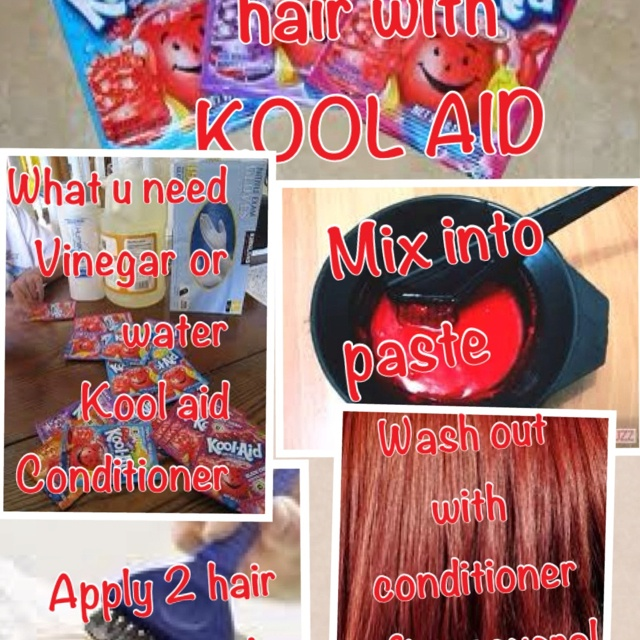 35 best DIY- KoolAid Hair Dye images on Pinterest | Kool aid hair ...