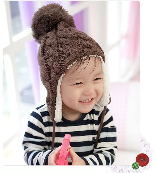 #czapka dla dzieci Double bobble cap, Tolken