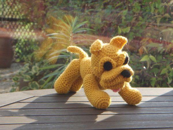 Un petit chien le boxer amigurumi au crochet tuto gratuit tuto gratuit tuto et tricot - Petit chien gratuit ...