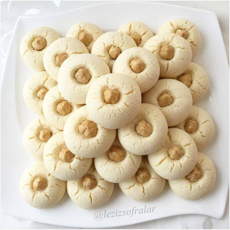 Nisastali findikli kurabiye | Lezizsofralar'a Hosgeldiniz