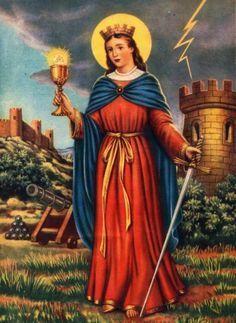 Oracion a Santa Barbara Bendita para solucionar problemas y abrir caminos de exito y prosperidad en tu vida