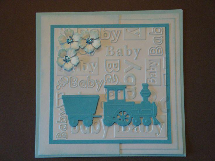 (Made by Susanne Elfrom Nguyen) Kort til baby