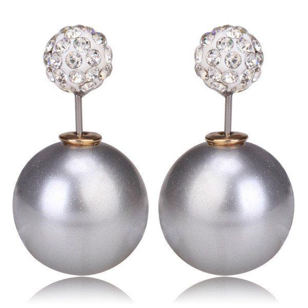 Crystal Stud Party Earrings