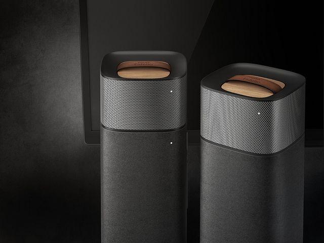 Philips Fidelio E5 wireless surround cinema speakers