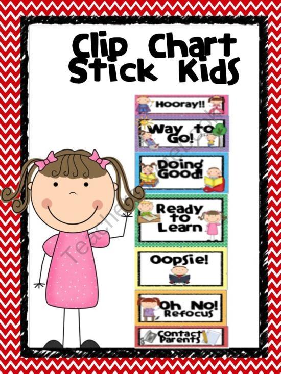 Kindergarten Behavior Calendar : Best images about behavior clip charts on pinterest