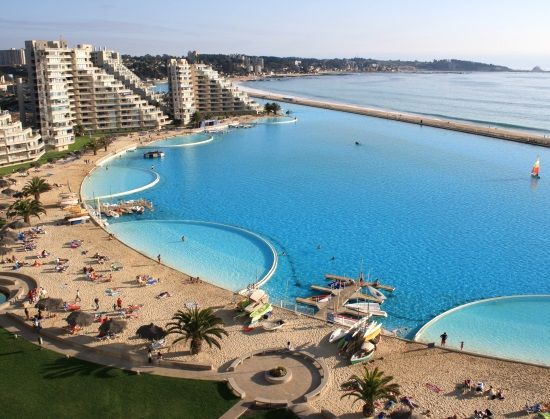 San Alfonso Del Mar -Largest Artificial Beach Pool in the World – Beach Bliss Living - Decorating and Lifestyle Blog
