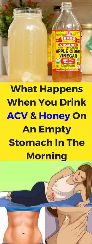 What Happens When you Drink Apple Cider Vinegar And Honey On An Empty Stomach In The Morning - seeking habit