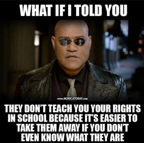 Take the red pill.  It's a dark and difficult place, but you are FREE!