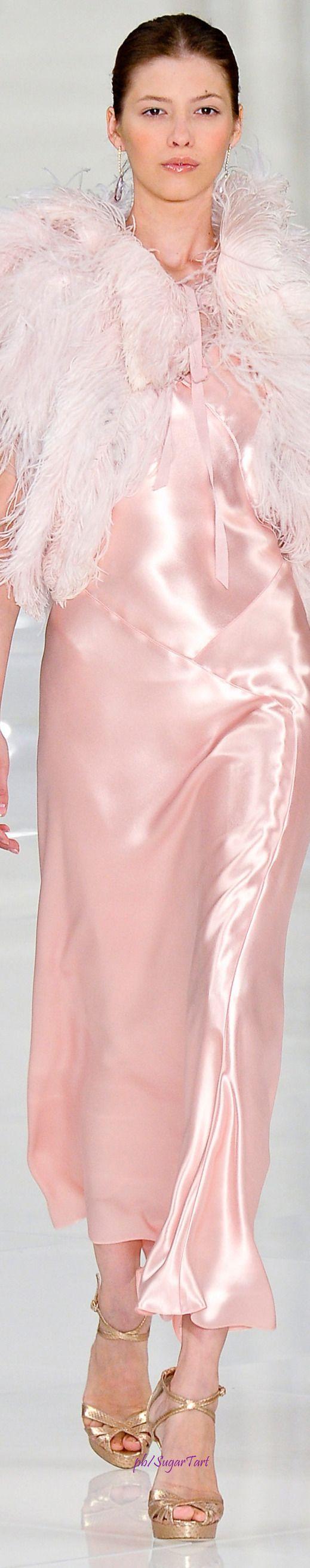 Ralph Lauren Spring. Love this dress so feminine♥♥
