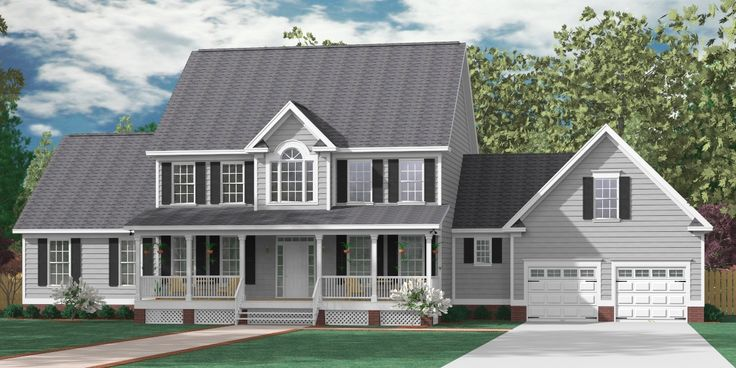 "House Plan 3397-A The ALBANY ""A"" elevation - 3397 Square Feet 88'-10"" wide by 51'-8"" deep 5 bedrooms/6 optional. 3 1/2 baths/4 optional 2 Car Garage w/Huge Bonus Large Master Suite"