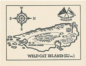 Wild Cat Island - Swallows and Amazons forever!