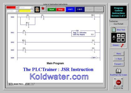 Free online PLC training, this free online PLC simulator teaches timers http://www.koldwater.com/SCORMDemos/plcu8_ktech/safari3/index.html?dhtmlActivation=inplace (Google chrome block script, so use another browser for this one.)