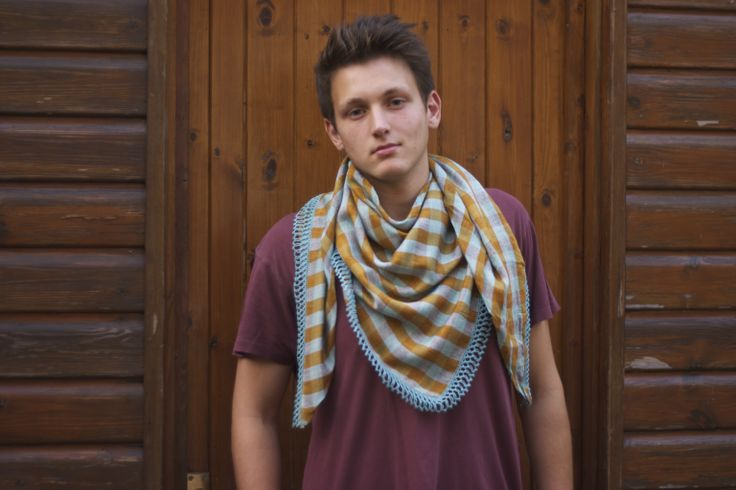S jo Scarves. Versatile pieces that work for both men and women. Visit our Facebook page for more information.