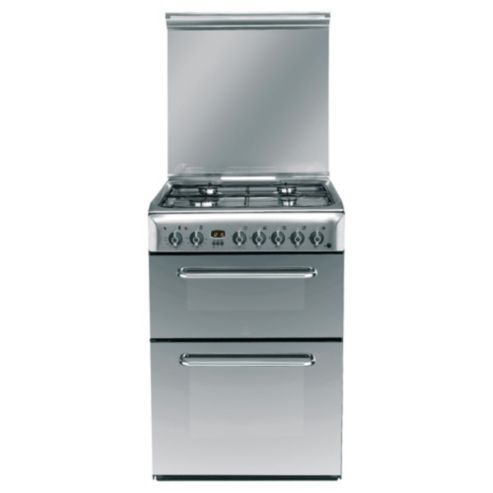 Buy Indesit KDP60SES Silver Electric Cooker, Double Oven from our Free Standing Cookers range - Tesco.com