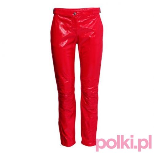 Skórzane spodnie H&M #polkipl