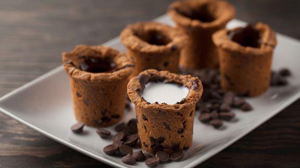 Biscuits « verre de lait »