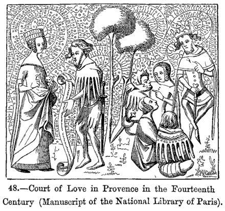 Amour courtois — Wikipédia