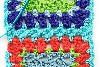 how to join granny squares together