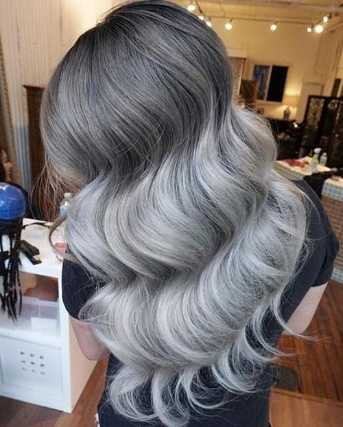 nice 20 Glamorous Ash Blonde and Silver Ombre Frisuren