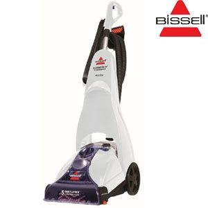 Dankzij de Power Brush CleanView Carpet Cleaner van Bissell hoeft u nooit meer een professioneel schoonmaakbedrijf in te huren om uw tapijt of vloerbedekking te laten reinigen.