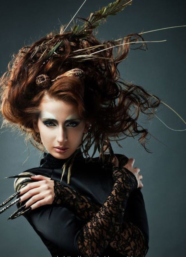 Witch Medusa Costume Idea Couture Hair