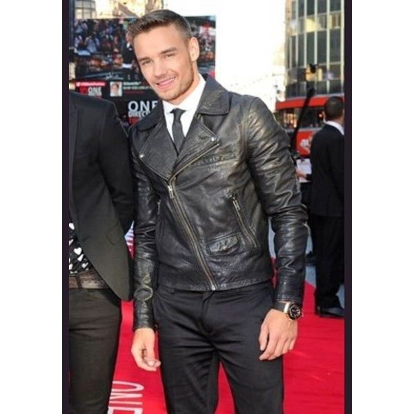 Liam Payne Leather Jacket Celebrities Leather Jackets Men Biker